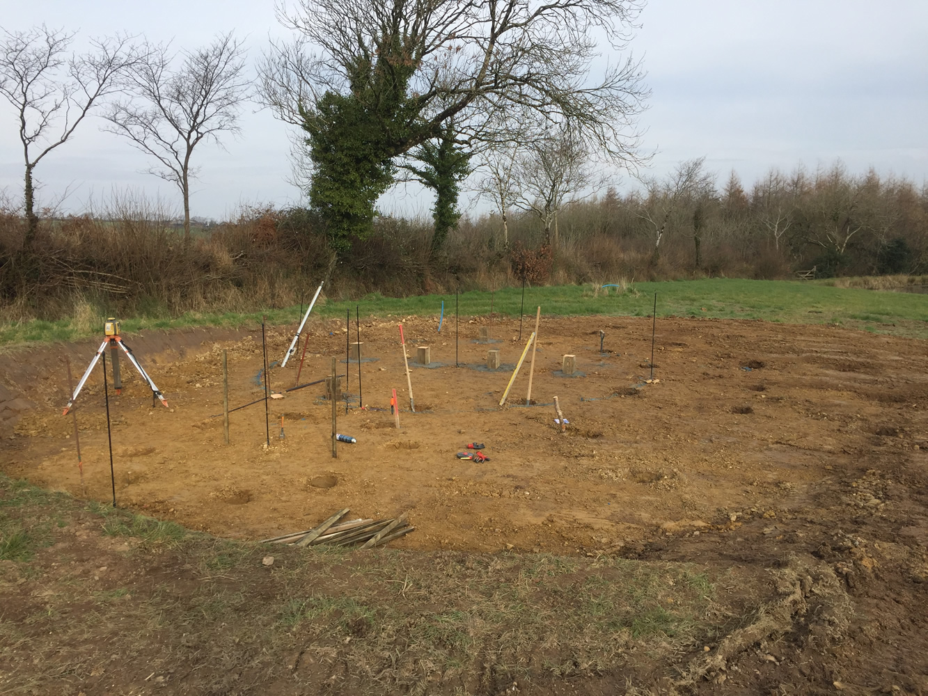 Site leveling